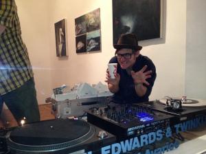 Stefan DJing